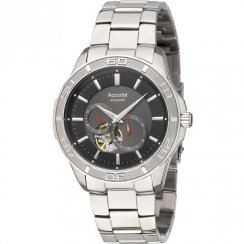 Accurist Automatic Black Dial Stainless Steel Bracelet Gents Watch MB912B