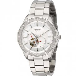 Accurist Automatic White Dial Stainless Steel Bracelet Gents Watch MB912S