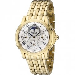 Accurist Greenwich Collection Gold Bracelet Gents Watch GMT120P