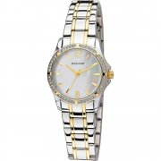 Accurist White Dial Two Tone Bracelet Ladies Watch LB1746P