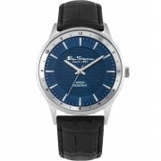 Ben Sherman Classic Blue Dial Black Strap Gents Watch BS147
