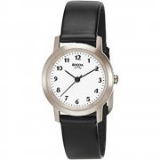 Boccia Classic white dial leather strap Ladies watch 3170-01