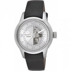 Breil Automatic silver dial leather strap Mens watch TW0778