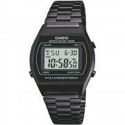 Casio Collection Digital Chronograph Black Bracelet Unisex Watch B640WB-1AEF