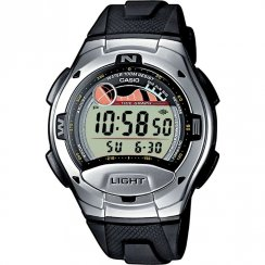 Casio Collection Digital Chronograph resin strap Mens watch W-753-1AVES