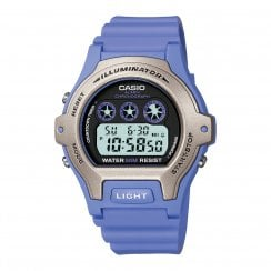 Casio Collection Ladies Lilac Resin Digital Sports Stopwatch LW-202H-6AVEF