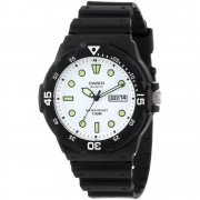 Casio Collection white dial resin strap Mens watch MRW-200H-7EVEF