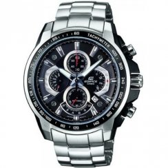 Casio Edifice black dial chronograph stainless steel bracelet Mens watch EF-560D-1AVEF