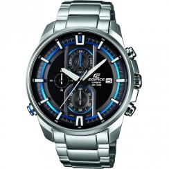 Casio Edifice Chronograph Black Dial Stainless Steel Bracelet Gents Watch EFR-533D-1AVUEF