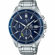 Casio Edifice Solar Chronograph Blue Dial Stainless Steel Bracelet Watch EFS-S510D-2AVUEF