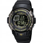 Casio G-Shock Digital Chronograph Black Resin Strap Gents Watch G-7710-1ER