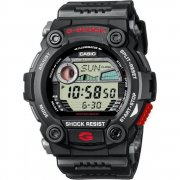 Casio G-Shock Digital Chronograph Black Resin Strap Mens Watch G-7900-1ER