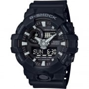 Casio G-Shock Dual Display Chrono Black Strap Gents Watch GA-700-1BER