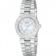 Citizen Miramar white dial stainless steel bracelet Ladies watch EP5830-56D