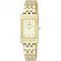 Citizen Serano champagne dial stainless steel bracelet Ladies watch EG3132-53P