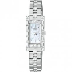 Citizen Silhouette white dial stainless steel bracelet Ladies watch EG2600-52D