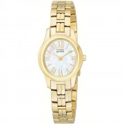 Citizen Silhouette white dial stainless steel bracelet Ladies watch EW9612-51D