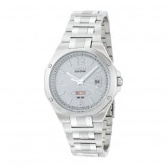 Citizen  silver dial stainless steel bracelet Mens watch BM5030-53A