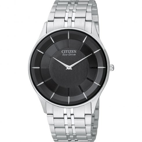 Citizen Stiletto black dial stainless steel bracelet Mens watch AR3010-57E
