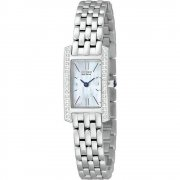 Citizen Stiletto white dial stainless steel bracelet Ladies watch EG2680-53D
