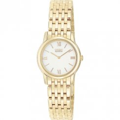 Citizen Stiletto white dial stainless steel bracelet Ladies watch EG3042-54A