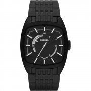 Diesel Scalped black dial stainless steel bracelet Mens watch DZ1586