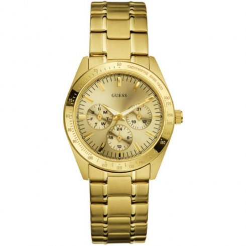 Guess Chase champagne dial stainless steel bracelet Ladies watch W12083L1
