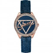 Guess Little Flirt blue dial fabric strap Ladies watch W0456L6