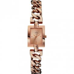 Guess Mod rose gold dial stainless steel bracelet Ladies watch W0437L3