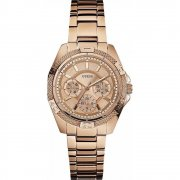 Guess Phantom rose gold dial stainless steel bracelet Ladies watch W0235L3