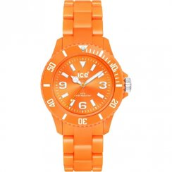Ice Watches Classic Solid orange dial resin bracelet Mens watch CF.OE.U.P.10