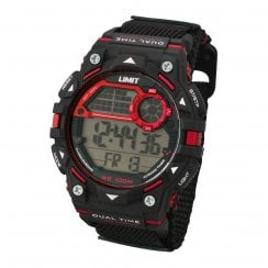 Limit Active Gents Black Digital Sports Chronograph 5603