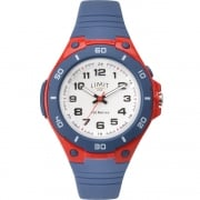Limit Active White Dial Blue Silicon Strap Children Watch 5699