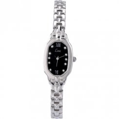 Limit Back Dial Stainless Steel Bracelet Ladies Watch 6858