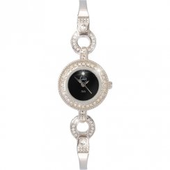 Limit  black dial stainless steel bracelet Ladies watch 6729