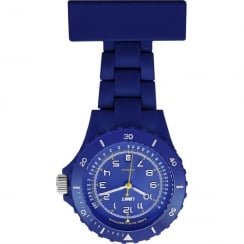 Limit Blue Resin Strap Nurses Fob Watch  6111