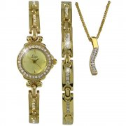 Limit  champagne dial stainless steel bracelet Ladies watch 6638G
