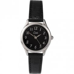 Limit Classic Black Dial Upper Leather Strap Ladies Watch 6742