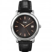 Limit Classic black dial upper leather strap Mens watch 5448
