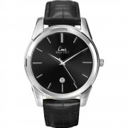 Limit Classic Black Dial Upper Leather Strap Mens Watch 5452