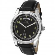 Limit Classic black dial upper leather strap Mens watch 5482