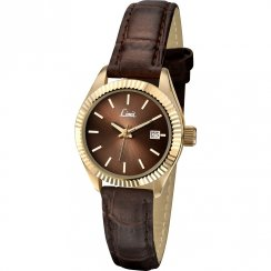 Limit Classic Brown Dial Brown Strap Ladies Watch 6121