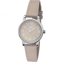 Limit Classic Grey Dial Grey Strap Ladies Watch 6551