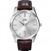 Limit Classic Silver Dial Brown Upper Leather Strap Mens Watch 5451