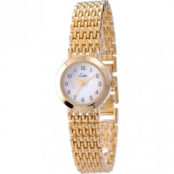 Limit Classic White Dial Gold Bracelet Ladies Watch 6854