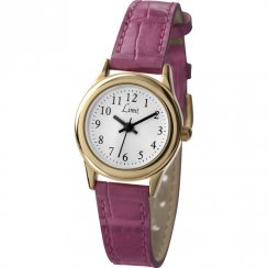 Limit Classic White Dial Pink Strap Ladies Watch 6983