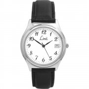 Limit Classic White Dial Upper Leather Strap Mens Watch 5120