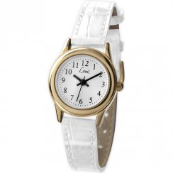 Limit Classic White Dial White Strap Ladies Watch 6981