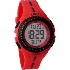 Limit Digital Chronograph Red Strap Children Watch 5392