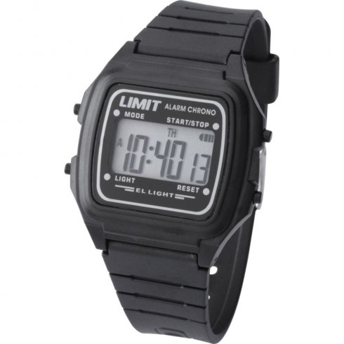 Limit Digital lcd dial chronograph resin strap Mens watch 6780